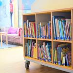 Impressionnen - Bücherei und Elternwartebereich