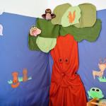 Impressionen - Wandbild im Kindergarten